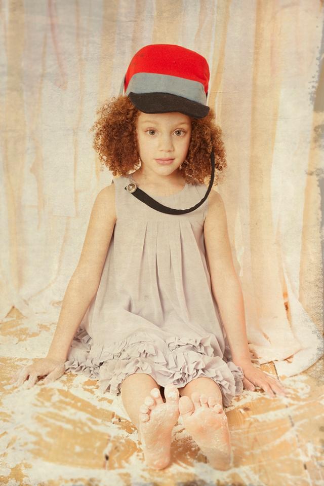 Malin Ngoie mode l'enfant